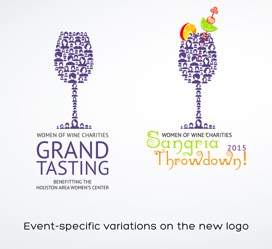 WOW logo variations